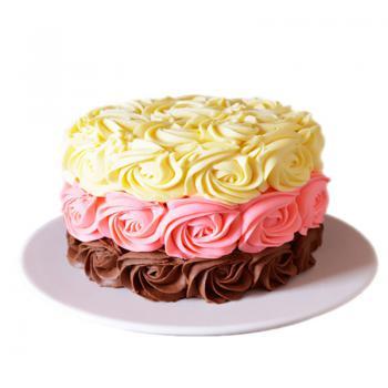 蛋糕 锦簇