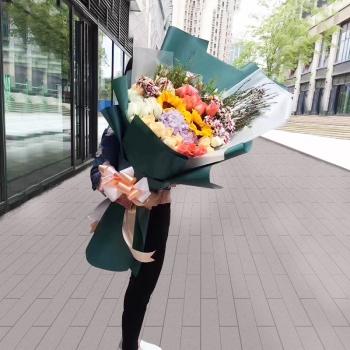 勇敢的爱-巨型韩式花束