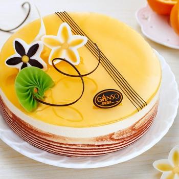 元祖|柳橙慕斯蛋糕