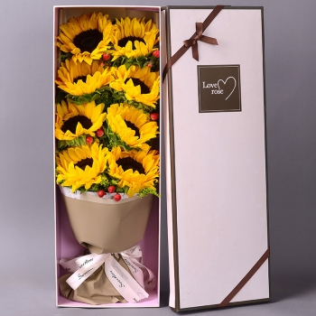以爱之名-8朵向日葵礼盒