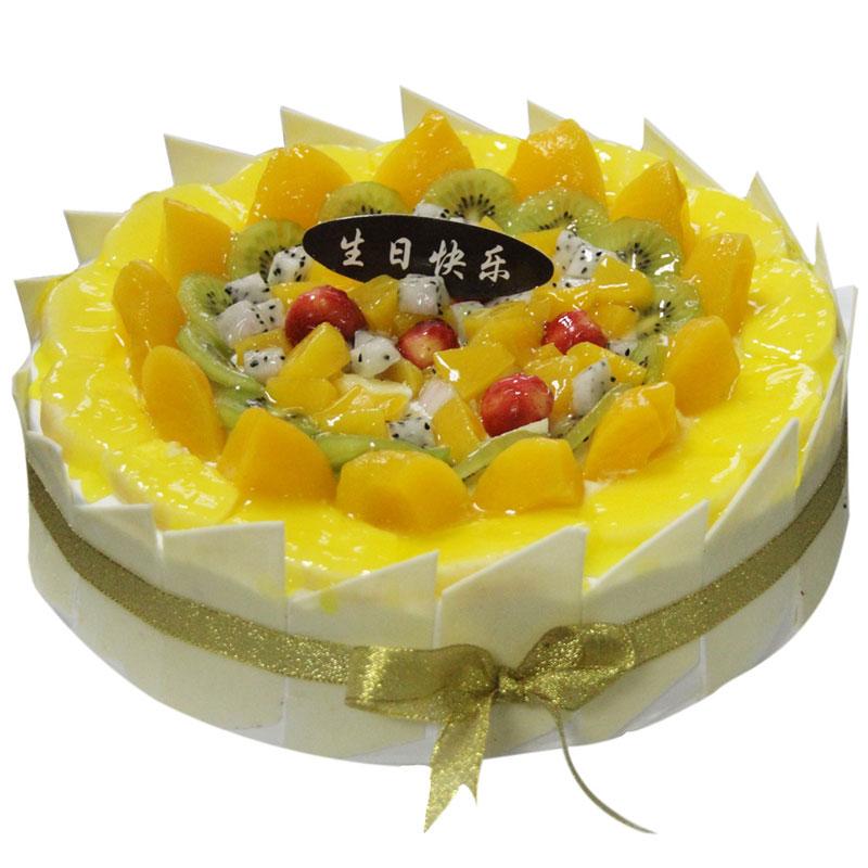 儿童可爱水果蛋糕图片