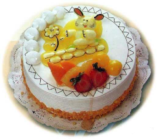 蛋糕 (兔)聪明可爱