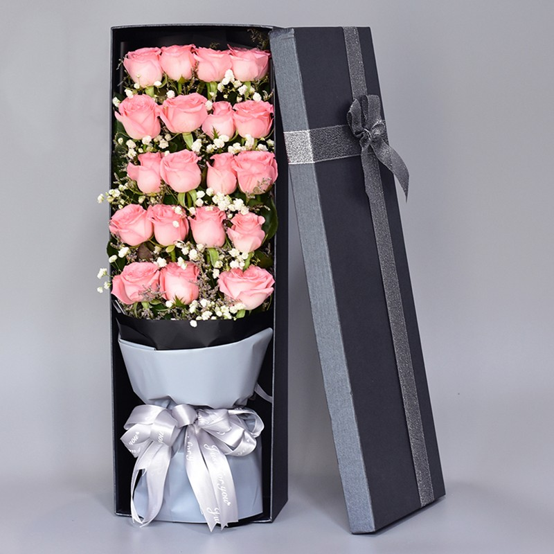 温柔如你-19朵粉佳人玫瑰礼盒